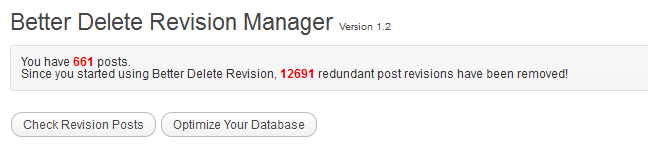 Plugin - Better Delete Revision Manager