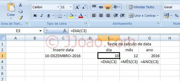 Data em maiusculas no Excel - Macro