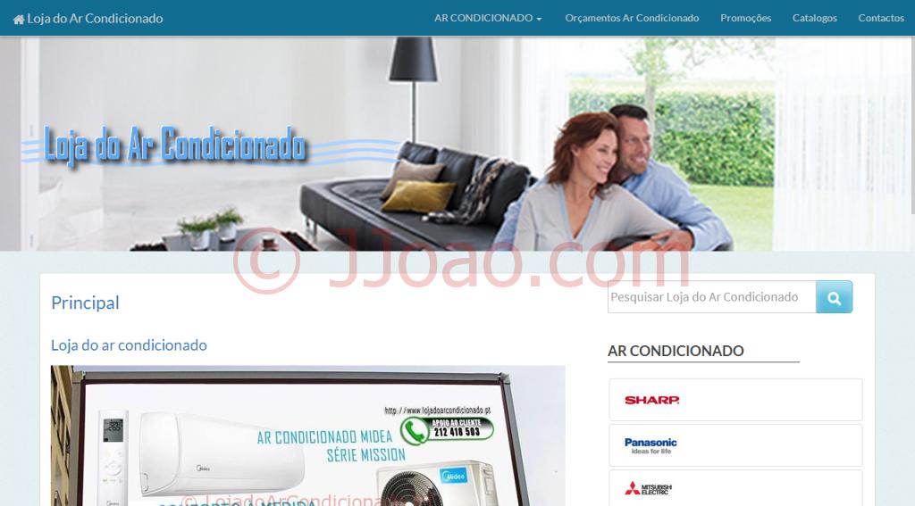 www.lojadoarcondicionado.pt