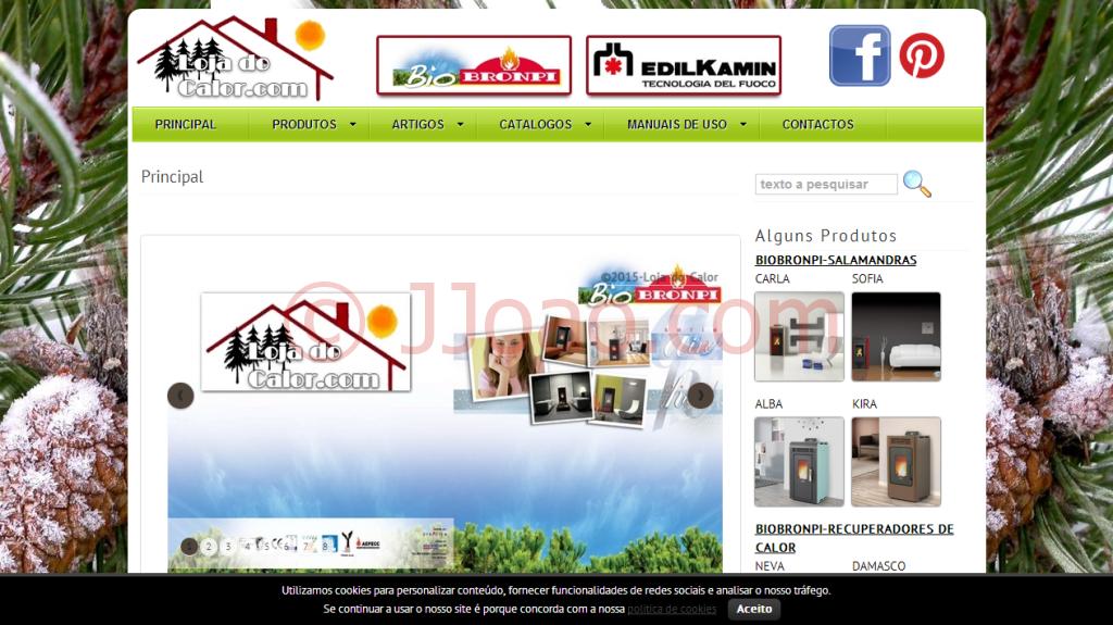 www.lojadocalor.com