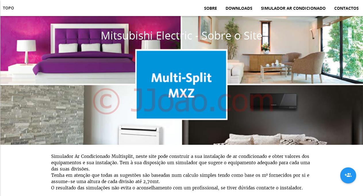 Simuladores de Ar Condicionado - Mitsubishi Electric - multisplit.net