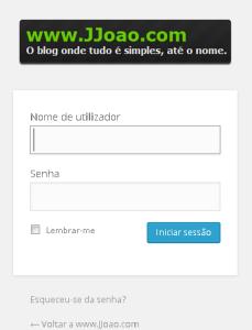 Mudar imagem login WordPress