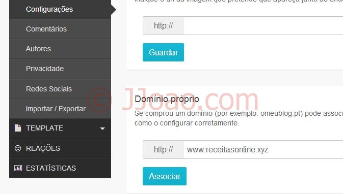 Namecheap - Configurar dominio no sapo