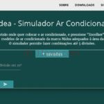 Simuladores de ar condicionado - Midea