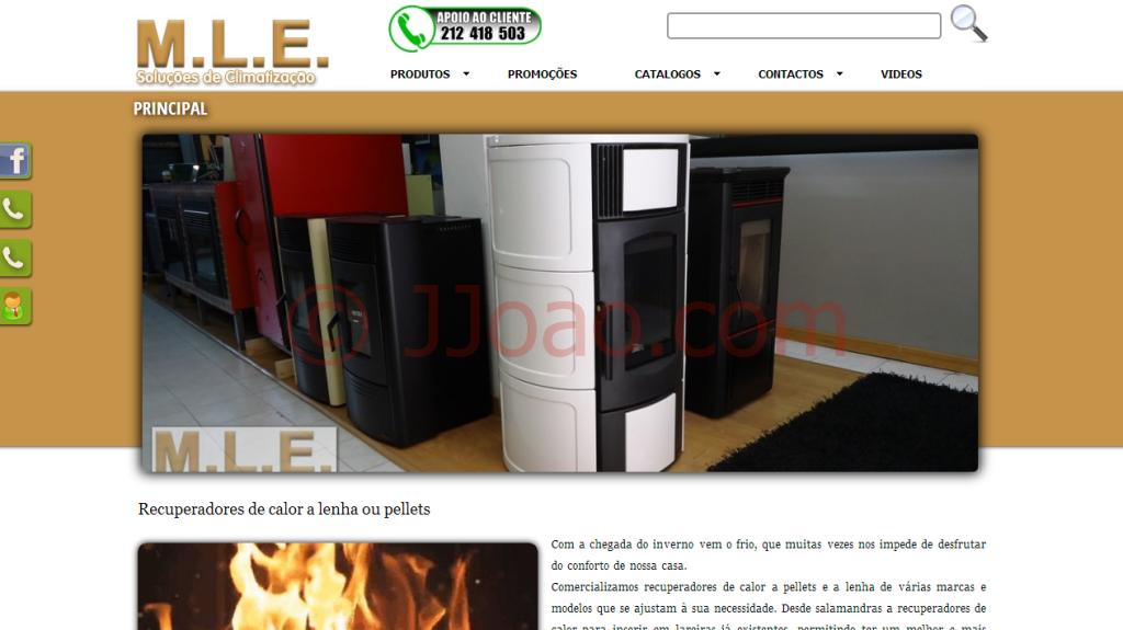Websites Portfolio - www.mle.pt